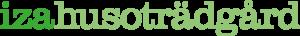 Iza hus och trädgård logotyp